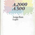 Il manuale dell' Amiga Basic, versione inglese.