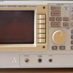 L'analizzatore di spettro R3261A.