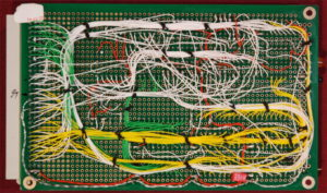 Kira 68010 computer. Scheda CPU retro.