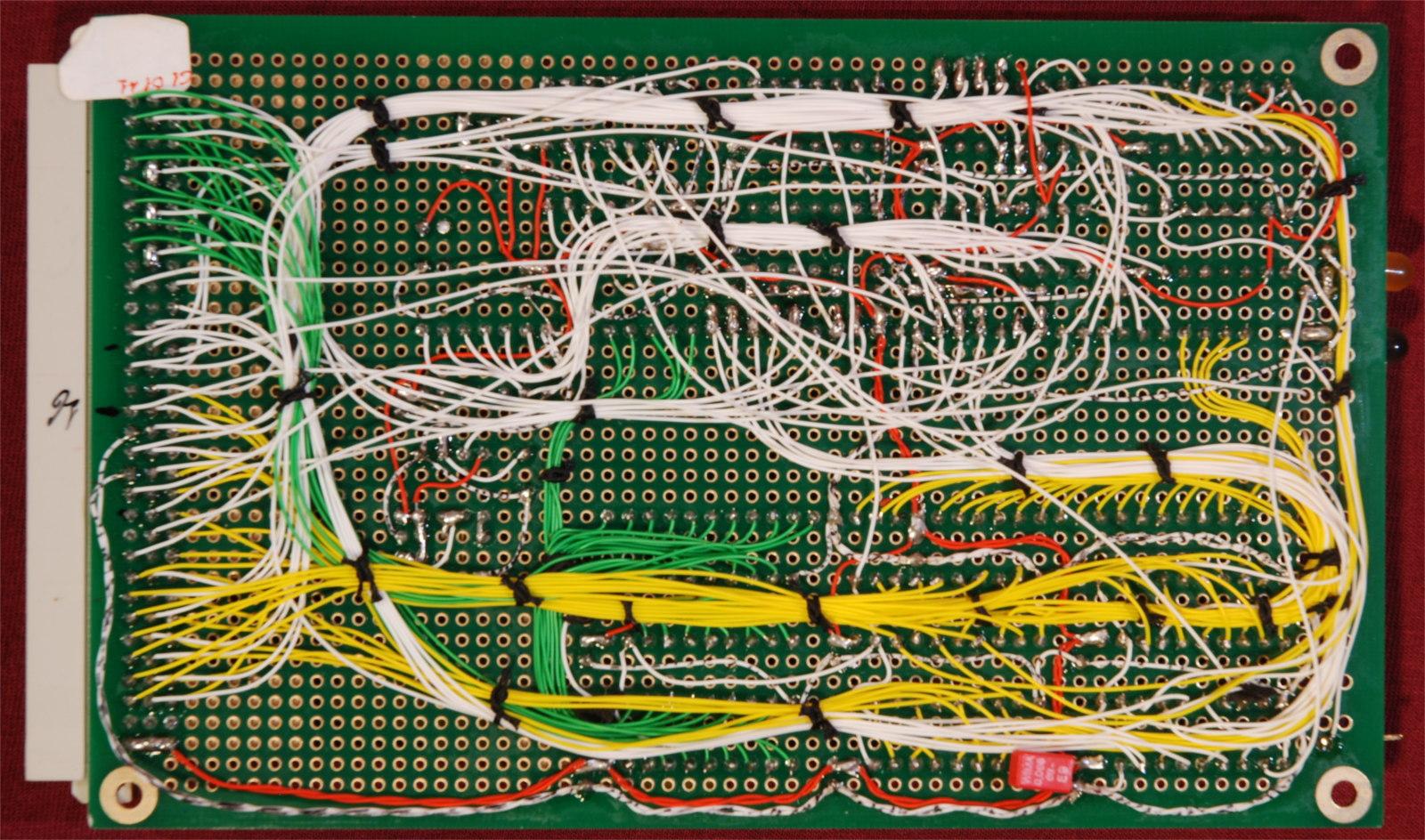 Kira 68010 computer. Scheda CPU.
