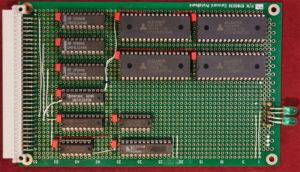 Kira 68010 computer. Scheda RAM.