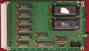 Kira 68010 computer. Scheda ROM.